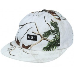 HUF CAP REALTREE 6 PANEL - WHITE