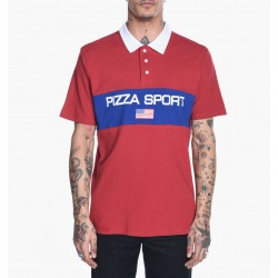 PIZZA POLO SPORT - RED