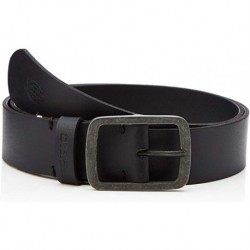EAGLE LAKE LEATHER BELT - BLACK