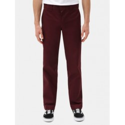 S STGHT WORK PANT - MAROON