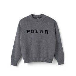 POLAR SW POLAR KNIT - BLACK