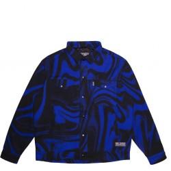 JACKER JKT LIQUID BLUE - BLEU