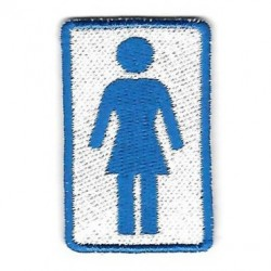 GIRL PATCH LOGO