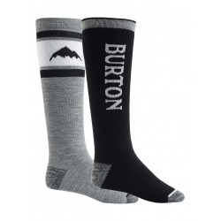 BURTON SOCK PARTY - BLACK HEATHER