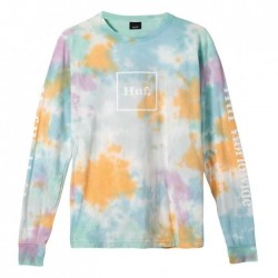 HUF TEEML PRISM WASH DOMESTIC - WHITE