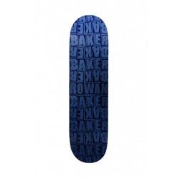 BAKER SKATE LOGO - PILE RZ BLUE