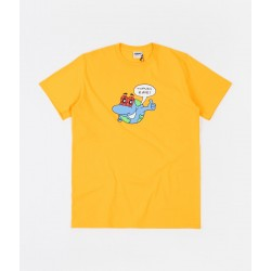 RAVE TEE ZONKED PLANET - YELLOW