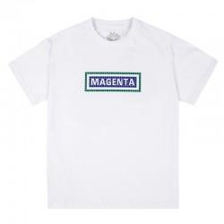 MAGENTA TEE STATION - WHITE