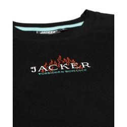 JACKER TEE FORBIDDEN ROMANCE - BLACK