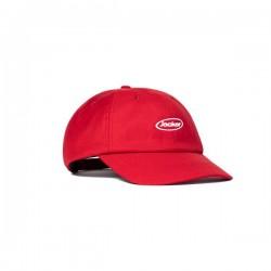 JACKER CAP OVAL LOGO - RED