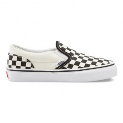 VANS SHOE SLIP ON PR - CHECKERBOARD BLACK