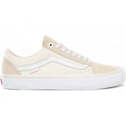 VANS SHOE OLD SKOOL PRO - MARSHMALLOW WHITE