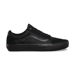 VANS SHOE OLD SKOOL PRO - BLACK BLACK