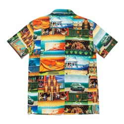 HUF SHIRT STAGES STREET FIGHTER - MULTI