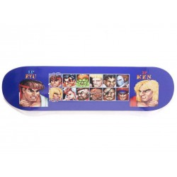 HUF SKATE PLAYERS SELECT STREET FIGHTER - BLACK