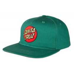 SANTA CRUZ CAP CLASSIC DOT - EVERGREEN