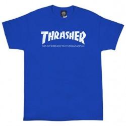 THRASHER TEE SKATE MAGAZINE - ROYAL