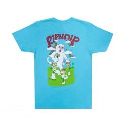 RIPNDIP TEE FLOWER POWER - BABY BLUE