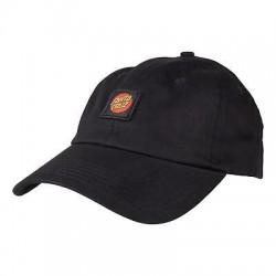 SANTA CRUZ CAP CLASSIC LABEL - BLACK