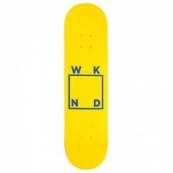 WEEKEND SKATE - LOGO BLUE YELLOW