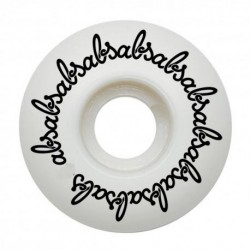 ABS WHEEL CONICAL ROUNDED - WHITE