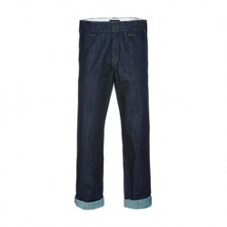 DICKIES PANT DENIM WORK - RINSED