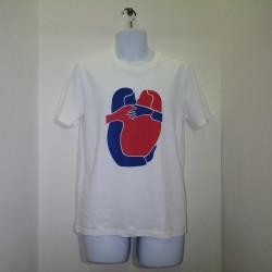 ABS TEE LOVE LONGO - WHITE