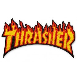 THRASHER PATCH LOGO - RED