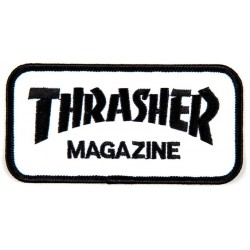 THRASHER PATCH LOGO - GREY