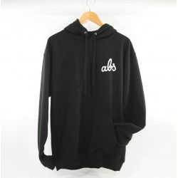ABS SWEAT HOOD ROUNDED - BLACK
