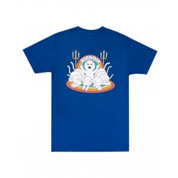 RIPNDIP TEE PRAISE - ROYAL BLUE.