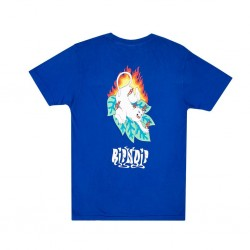 RIPNDIP TEE FUEGO - ROYAL BLUE.