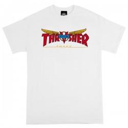 THRASHER TEE VENTURE COLLAB - WHITE