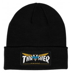 THRASHER BEANI VENTURE COLLAB - BLACK