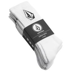 VOLCOM SOCK FULL STONE X3 - WHITE