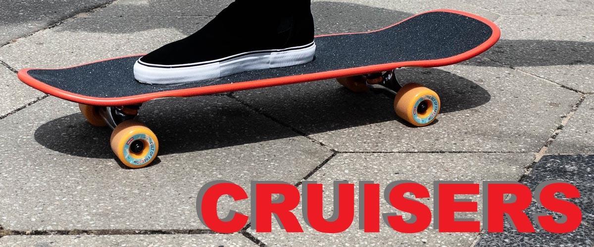 Tous nos cruisers, idéaux pour le déplacement en ville, sans bruit ni vibration